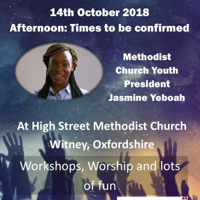 20181014 Methodist Church Youth President