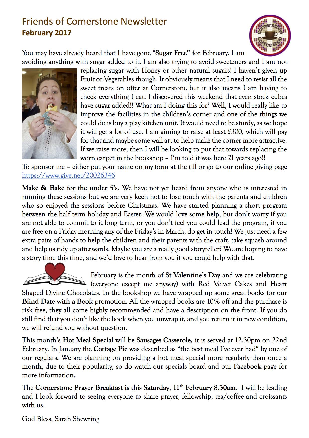 Friends Newsletter February 17